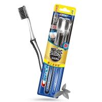 佳洁士 CREST 超细柔韧黑茶深洁牙刷两支优惠装(新老包装,随机发货)
