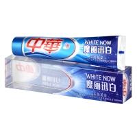 中华(ZHONGHUA) 魔丽迅白 冰川酷爽牙膏170g(双层膏体 有效美白牙齿)