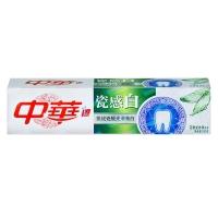 中华(ZHONGHUA)瓷感白 花香龙井牙膏180g