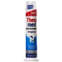 汉高施华蔻 (Theramed) 固齿防蛀 按压式牙膏 100ml 蓝色 (欧洲原装进口)