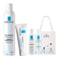 理肤泉(LA ROCHE-POSAY)护肤两件套(喷雾300ml+B5修护霜40ml)(护肤套装 补水保湿 修护肌肤)