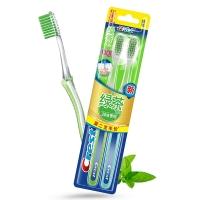 佳洁士 CREST 超细柔韧绿茶养龈软毛牙刷两支优惠装(新老包装,随机发货)
