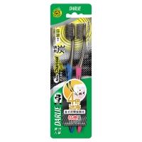 黑人(DARLIE)炭丝旋洁 牙刷×2(优惠装)