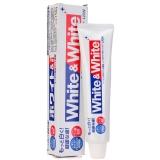 狮王(Lion)White&white 美白 牙膏 150g(日本原装进口)