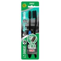 黑人(DARLIE)炭丝深洁 牙刷×2(优惠装)