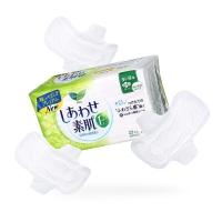 【日本原装进口】乐而雅(laurier)F透气棉柔纤巧日用护翼型卫生巾225mm 22片