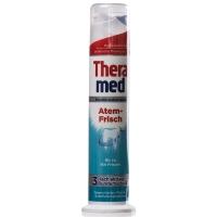 汉高施华蔻 (Theramed) 清新口气 按压式牙膏 100ml 绿色 (欧洲原装进口)