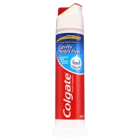 高露洁(Colgate) 卓效防蛀 牙膏 130g(直立式,全新升级欧洲进口)