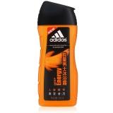 阿迪达斯(Adidas)男士 沐浴露 能量 250ml(新老包装随机发放)