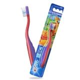 佳潔士(Crest) 階段型兒童牙刷適合2至4歲(彩色刷毛 提示牙膏用量 愛爾蘭進口)(顏色隨機發貨)