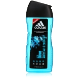 阿迪达斯(Adidas)男士活力冰点沐浴露250ml 持久留香控油清凉舒爽 富含海盐成分 有效去角质