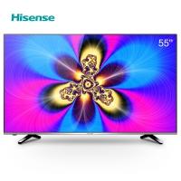海信(Hisense)LED55EC520UA 55英寸 VIDAA3 14核 炫彩4K智能电视(黑色)
