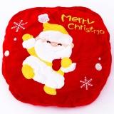集暖 暖手宝热水袋充电圣诞老人抱枕红色