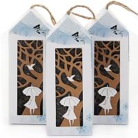 智创意 香薰香袋干花香包套装冬日可爱(薰衣草、海洋、栀子花)LXJ-317