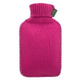 费许(FASHY)2.0升PVC材质紫红色6715针织高领外套热水袋