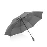 Hommy 三折全自動8骨加大防風商務折疊雨傘 男女通用 黑色