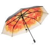 蕉下(bananaunder) 小黑伞系列(雨棠) 三折双层防晒晴雨伞 防雨遮阳折叠太阳伞