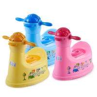 顺美 儿童坐便器 小鸭幼儿马桶抽屉式宝宝坐厕器SM-2833 颜色随机