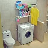宝优妮浴室置物架 多功能不锈钢落地卫生间置物架 承重约60斤左右 DQ-5021-3