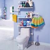 宝优妮 浴室不锈钢马桶置物架 DQ0053B