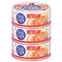 愛麗思IRIS 寵物牛肉味狗罐頭 3罐裝