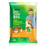 康多乐(DogChow) 宠物成犬狗粮 活力营养 泰迪贵宾 柯基 金毛 拉布拉多  萨摩耶全犬种通用 鸡肉肝蔬菜8kg