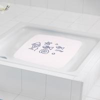 德国瑞德 RIDDER 防滑垫/浴室脚垫 54*54cm 浴室阳台橡胶门垫防滑垫/蓝色海?#36164;?#30028; 64213