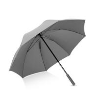 Hommy 手开防风雨伞长柄男士商务加大雨伞 黑色