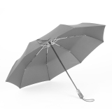 Hommy 折叠全自动晴雨伞 加大加固男女休闲时尚商务出行防风挡雨遮阳防晒自动收开两用伞 黑色