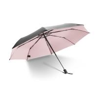 蕉下(bananaunder)Black系列三折晴雨伞小黑伞防晒防紫外线遮阳伞 石英粉