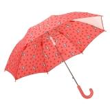 百盛洋伞 喵喵虎系列童趣学生透明伞 安全儿童伞 4-12岁男女通用雨伞7122 粉红色大号