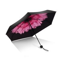 iRain Umbnella 防晒口袋伞超轻伞折叠防紫外线伞晴雨伞太阳伞五折伞遮阳伞 樱花