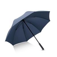 Hommy 手开防风雨伞长柄男士商务加大雨伞 蓝色