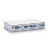 弗吉凯柏(cabos)F017  高清VGA1分4分屏器分频器 电脑显示器 1进4出分配器
