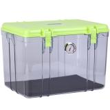锐玛(EIRMAI) R20 单反相机防潮箱 镜头收纳箱 相机干燥箱 大号,送大号吸湿卡 炫绿色