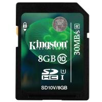 金士顿(Kingston)8GB 30MB/s SD Class10 存储卡