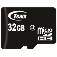 十铨科技(Team)32GB Class4 TF(micro SD)存储卡(TUSDH32GCL402)