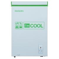 奥马(Homa) 98升 卧式变温冷柜 一级节能 超长断电保护 7档调温 绿晶白 BC/BD-98