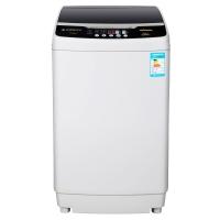 美菱(MELING)7.5公斤波轮全自动洗衣机 节能省水 下排水 浅灰色 XQB75-2775
