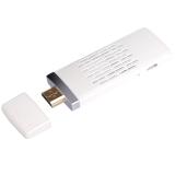弗吉凯柏(cabos)F04904 无线同屏器hdmi推送宝miracast wifi手机视频收发ezcast传输器 双核 白色