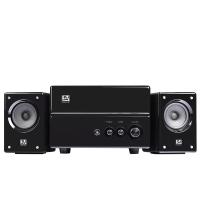 索威(SV)S747 台式电脑多媒体2.1有源音响实木重低音炮家用HIFI音箱(黑色)