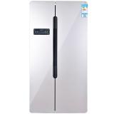 新飞(Frestec)558升 风冷无霜 电脑控温双循环 对开门冰箱(光亮拉丝)BCD-558WDK