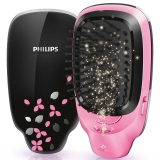 飞利浦(PHILIPS) 负离子造型梳 秋冬呵护头发 防静电 红黑个性潮流新色HP4589/05