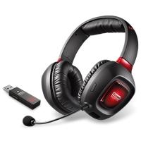 創新(Creative)Tactic3D Rage Wireless耳機 頭戴式藍牙無線耳機 覆耳式游戲專用耳麥