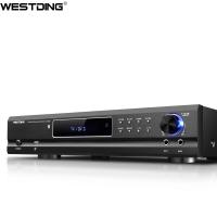 威斯汀(WESTDING)AV-985 家庭影院功放機 專業5.1家用音響音頻放大器 AV功放機 USB接口播放 黑色