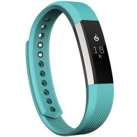 Fitbit Alta 智能健身手环 自动睡眠记录 来电显示 运动蓝牙手表计步器 经典款 蓝青色 小号