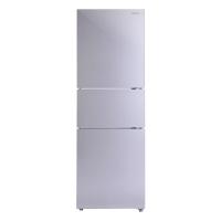 松下(Panasonic)玻璃面板三门冰箱  快速冷冻 欧式设计 尊雅银 NR-J24GM1-XS