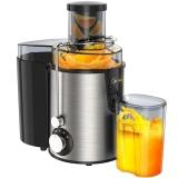 美的(Midea)榨汁机 原汁机不锈钢机身 家用打果汁WJE2802D