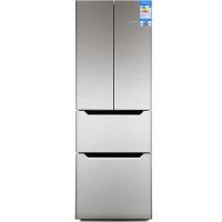 新飞(Frestec)285升 电脑控温 法式多门冰箱(金属不锈钢灰金)BCD-285DEKA