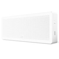 小米方盒子蓝牙音箱白色 无线家庭用迷你便携台式音箱
